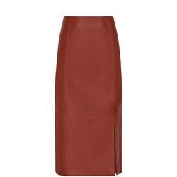 Sophia Leather Pencil Skirt