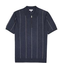 Renfrew Striped Zip Neck Shirt