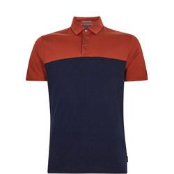 Loop Cotton Colour-Block Polo Shirt