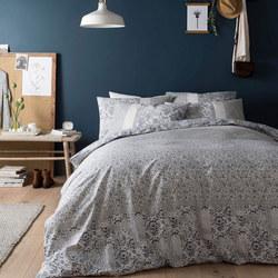 Floral Mosaic Duvet Pearl Blue