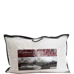 Goose Feather & Down Surround Medium Pillow