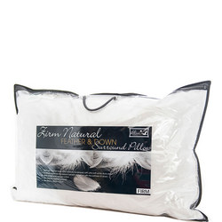Goose Feather & Down Surround Firm Pillow