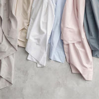 300TC Organic Cotton Fitted Sheet Snow