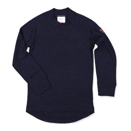 Baby Merino Wool Top Blue