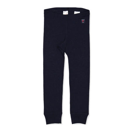Kids Merino Wool Long Johns Blue