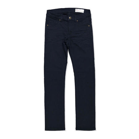 Kids Slim Fit Coloured Jeans Blue