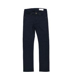 Kids Slim Fit Coloured Jeans Blue