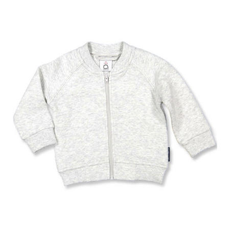 Baby Quilted Cardigan Grey