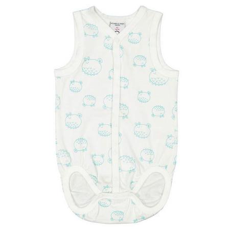 Baby Sleeveless Bodysuit Green