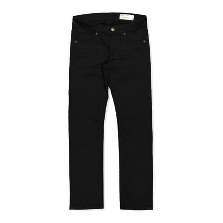 Kids Slim Fit Coloured Jeans Black