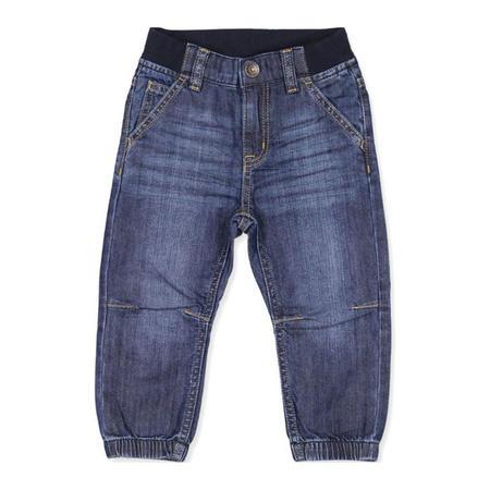 Babies Cuffed Jeans Blue