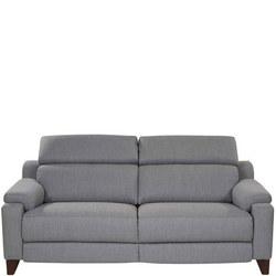 1701 Power Recliner Sofa Herringbone Slate