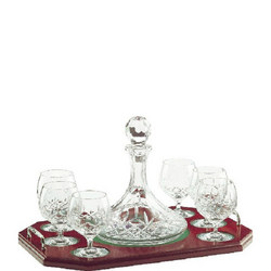 Longford Brandy Decanter Tray Set