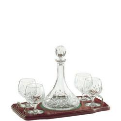 Longford Miniature Brandy Decanter Tray Set