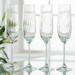Erne Flute Glasses Set of Four
