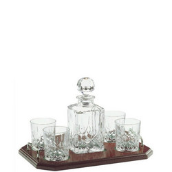 Longford Square Decanter Tray Set