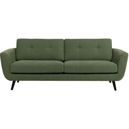 Smile Button 3 Seater Sofa