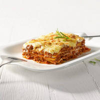 Pasta Passion Lasagna Plates Two-Piece Set White