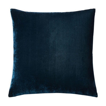 Lush Velvet 51x51 Cushion Cover, Regal Blue