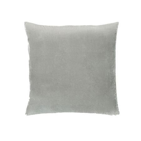 Lush Velvet 51cm X 51cm Pillow Cover Platinum