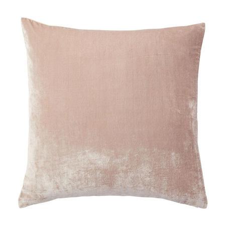 Lush Velvet Cushion Cover, Dusty Blush 51 x 51cm