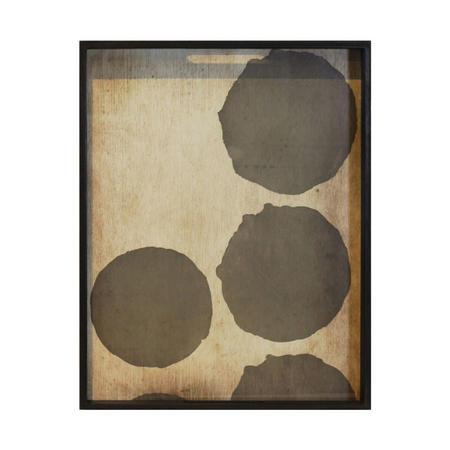 Silver Dots Tray 20441