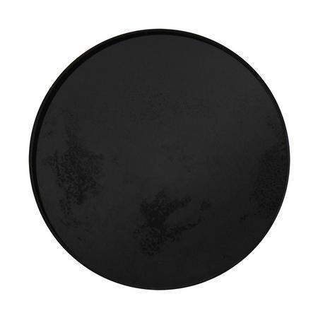 Heavy Aged Charcoal Mirror Tray 20450