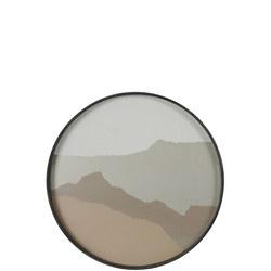 Wabi Sabi Round Tray, Sand 20459