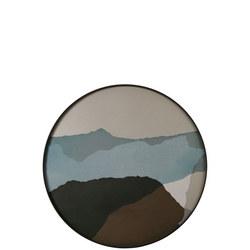 Wabi Sabi Round Tray, Graphite 20462