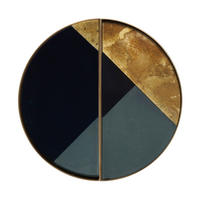 Geometric Half-Moon Mini Tray (Set Of 2) 20541