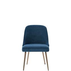 Mid-Century Velvet Dining Chair