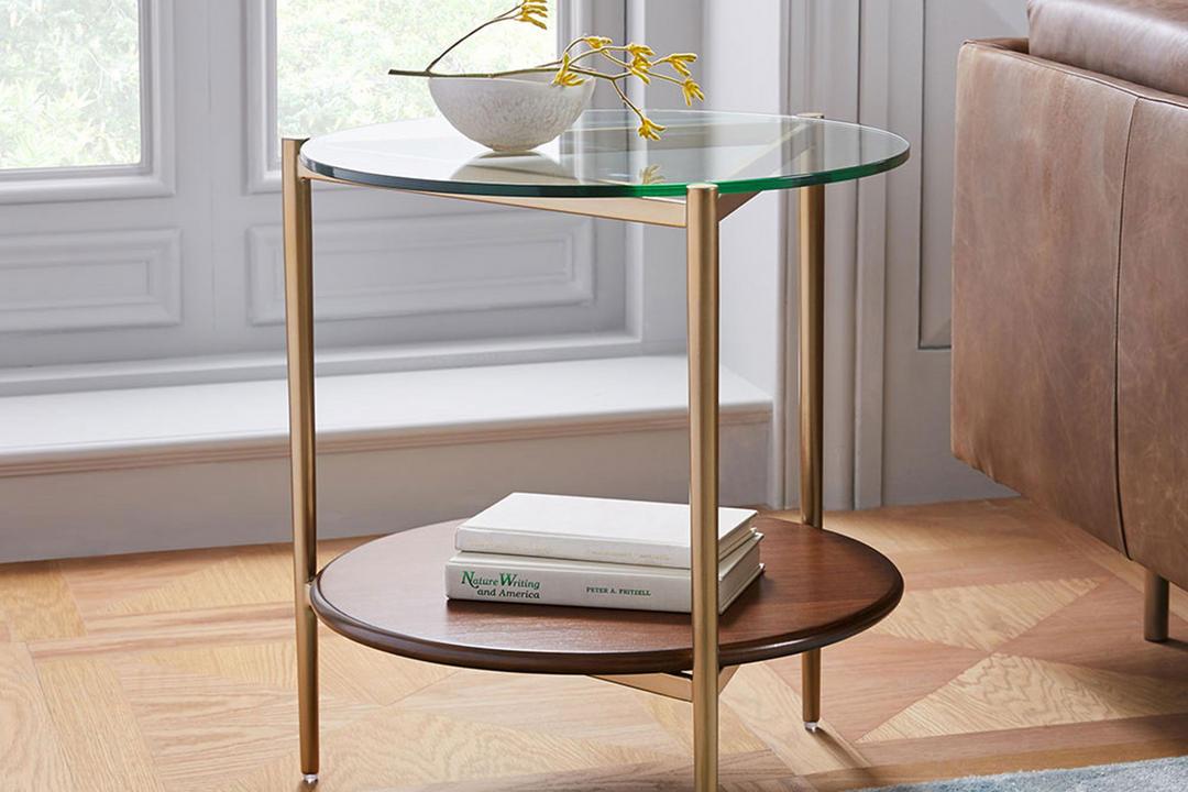 Mid-Century Art Display Side Table
