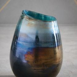 Small Round Lustre Curve Vase