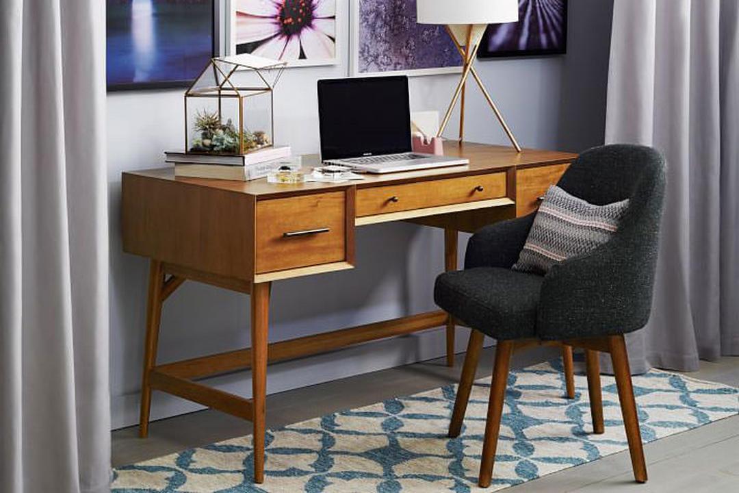 Mid Century Desk Acorn