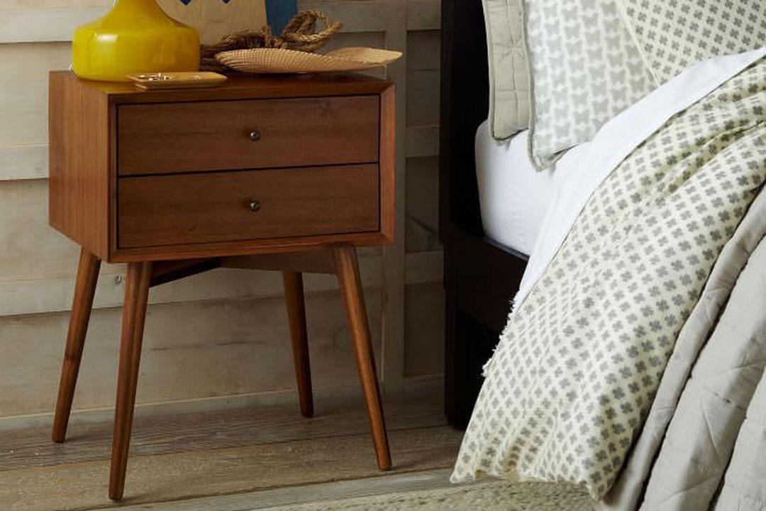 Mid-Century Bedside Table Acorn