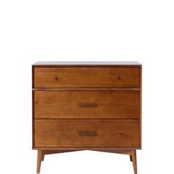 Mid-Century 3-Drawer Dresser Acorn