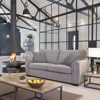 Memphis Two-Seater Sofa Grey