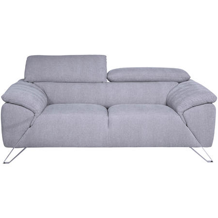 Tesla Two-Seater Sofa Grey