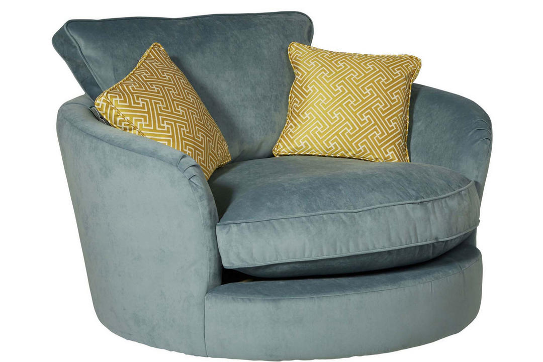 Bossanova Swivel Cuddler Armchair