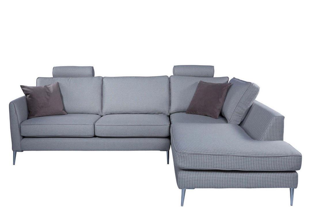 Houndstooth Print Sofa Baci Living Room