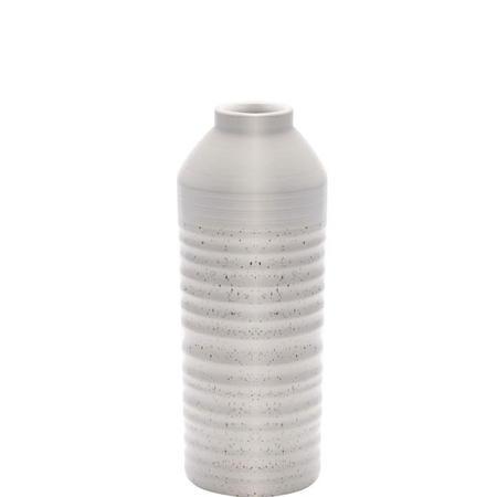 """Textured Organic Vase Medium 12.5"""" White"""