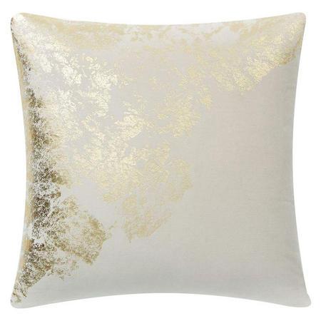 Velvet Metallic Sandstone Cushion Cover 51 cm sq. Stone