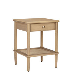 John Lewis Croft Collection Bala 1 Drawer Bedside Table Brown