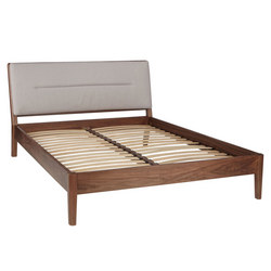 Design Project By John Lewis No049 Bed Frame Walnut Grey Brown