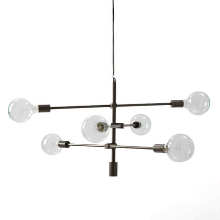 Mobile Chandelier Plated Antique Bronze