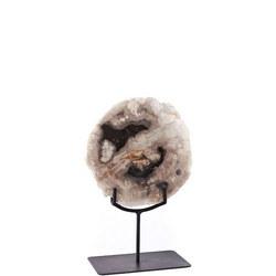 Petrified Wood Object on Stand Small