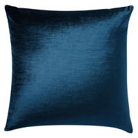 Lustre Velvet Cushion Cover 51sq cm Regal Blue