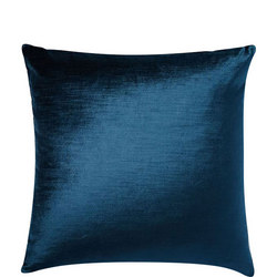 Lustre Velvet Cushion Cover 51sq cm Regal Blue