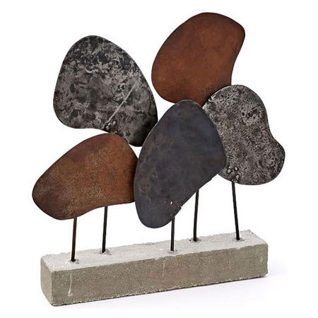 Recycled Metal Sculpture Multi