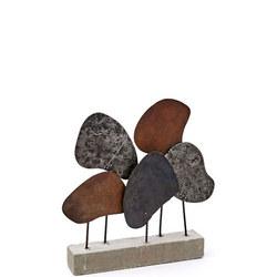 Recycled Metal Sculpture Multi